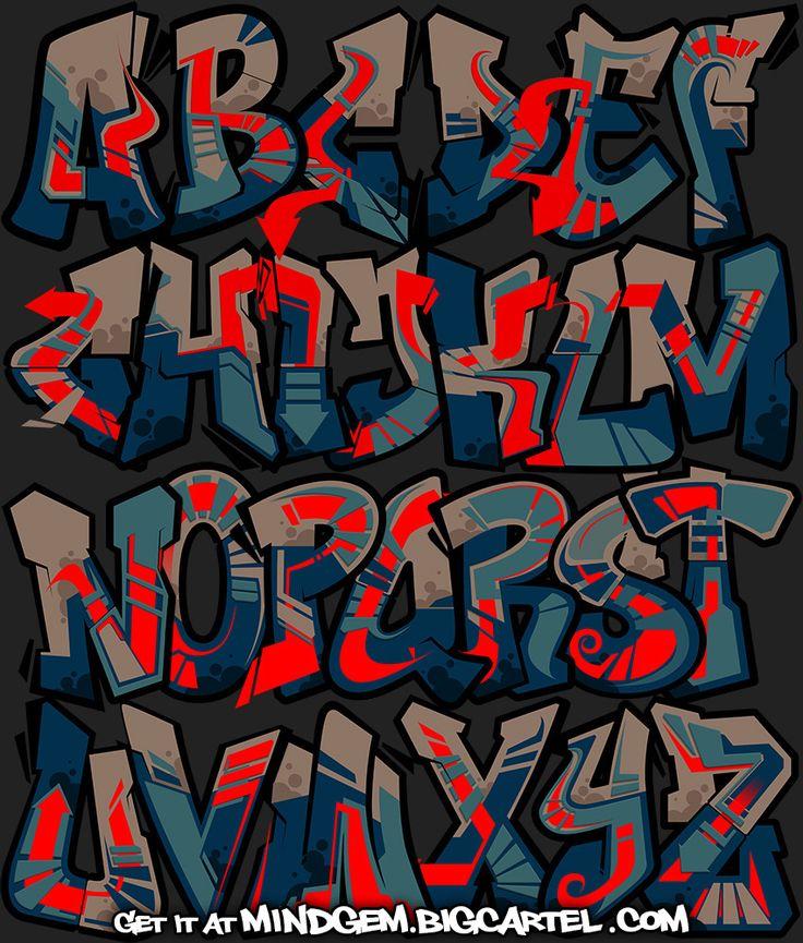 25+ Beautiful Graffiti Font Ideas On Pinterest