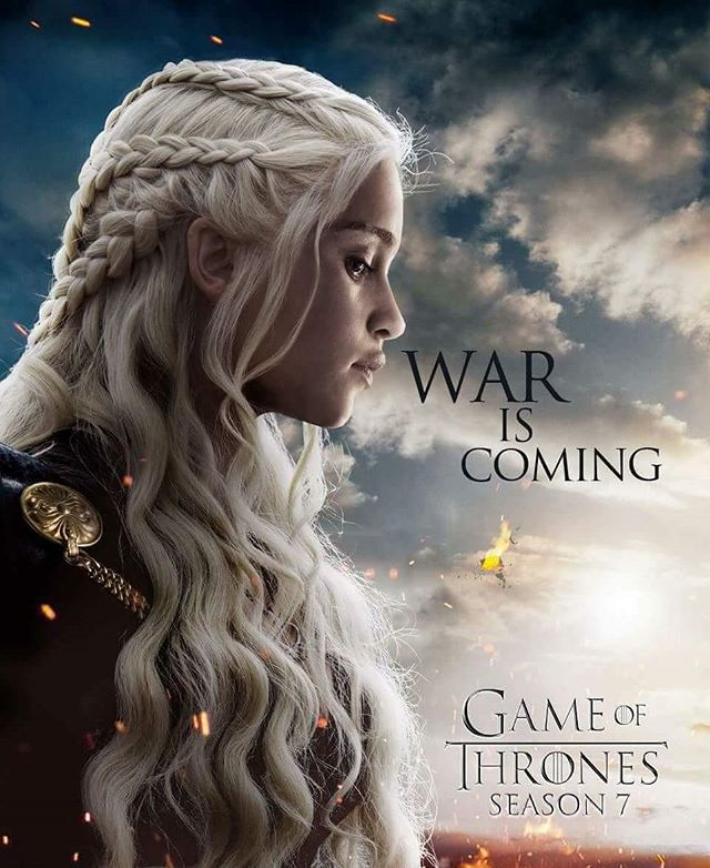 Amazing fan made poster for Game of Thrones Season 7