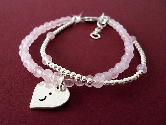 Semicolon Bracelet Semi Colon Surviving Depression Survivor Silver And Rose Quartz Fashion Pinterest