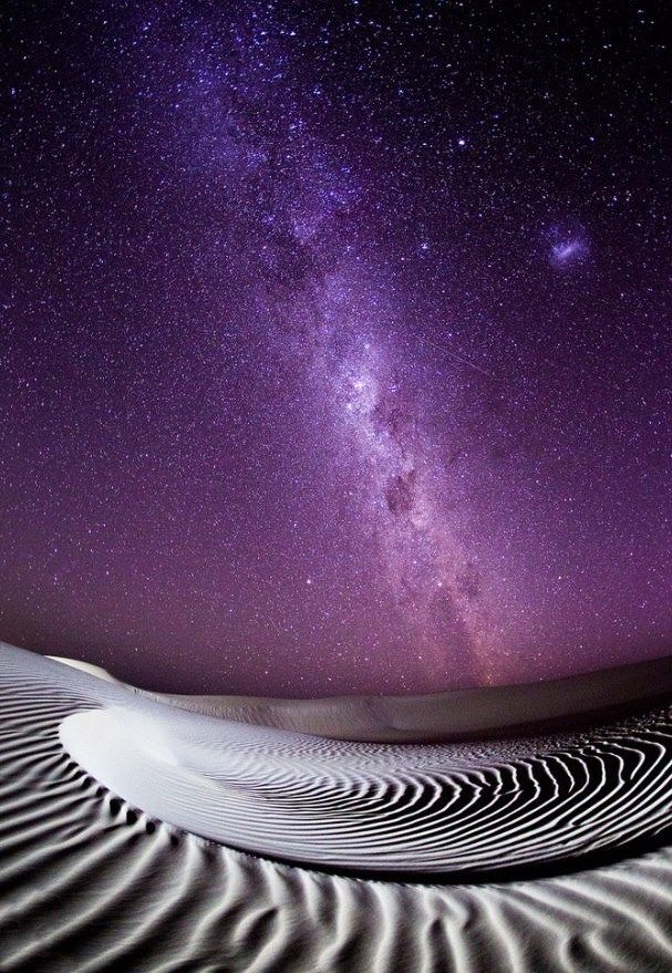 The Milky Way taken by John White in Australia
