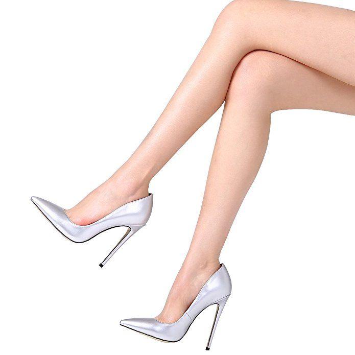 Guoar High Heels Damenchuhe Große Größe Slip on Lackleder Glitzernd Pumps mit Stiletto Absatz Büro-Dame Ballsaal Hochzeit Party: Amazon.de: Schuhe & Handtaschen
