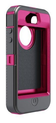 OtterBox Defender Series Hybrid Case & Holster for iPhone 4 & 4S  - Retail Packaging - Peony Pink/Gunmetal Grey - http://www.mobilebliss.com/otterbox-defender-series-hybrid-case-holster-for-iphone-4-4s-retail-packaging-peony-pinkgunmetal-grey - http://ecx.images-amazon.com/images/I/4136vwZqkwL.jpg