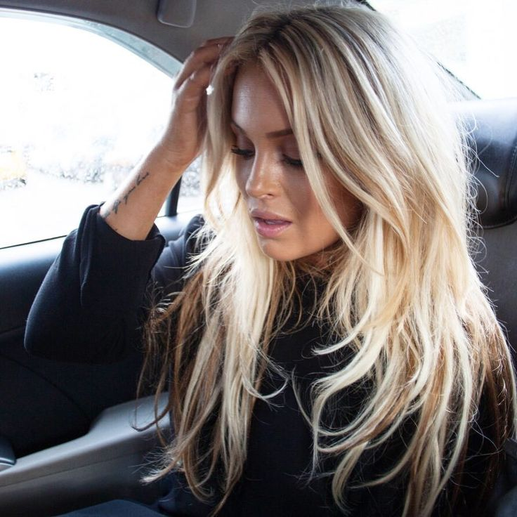 Gorgeous but so natural long hair