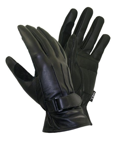 Xelement 'Gel Palmed' Womens Leather Driving Gloves - $23 LeatherUp.com & all good reviews