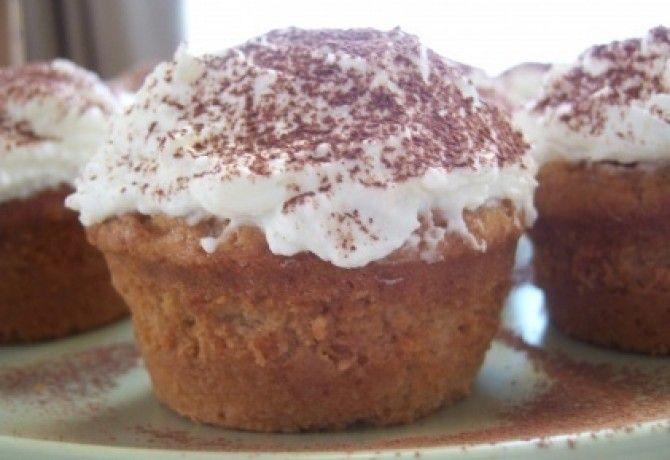 Tiramisu muffin recept képpel. Hozzávalók és az elkészítés részletes leírása. A tiramisu muffin elkészítési ideje: 45 perc