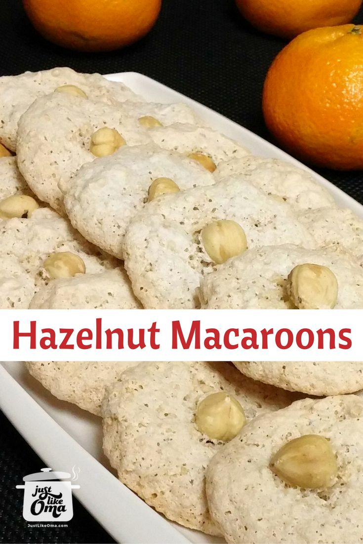 266 best german christmas images on pinterest germany christmas german hazelnut cookies are the traditional haselnussmakronen that we love especially at christmas share forumfinder Image collections