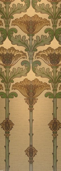 Sunflower - Historic Wallpapers - Victorian Arts - Victorial Crafts - Aesthetic Movement