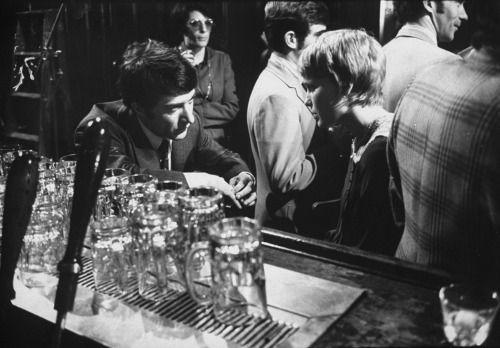 Mia Farrow & Dustin Hoffman