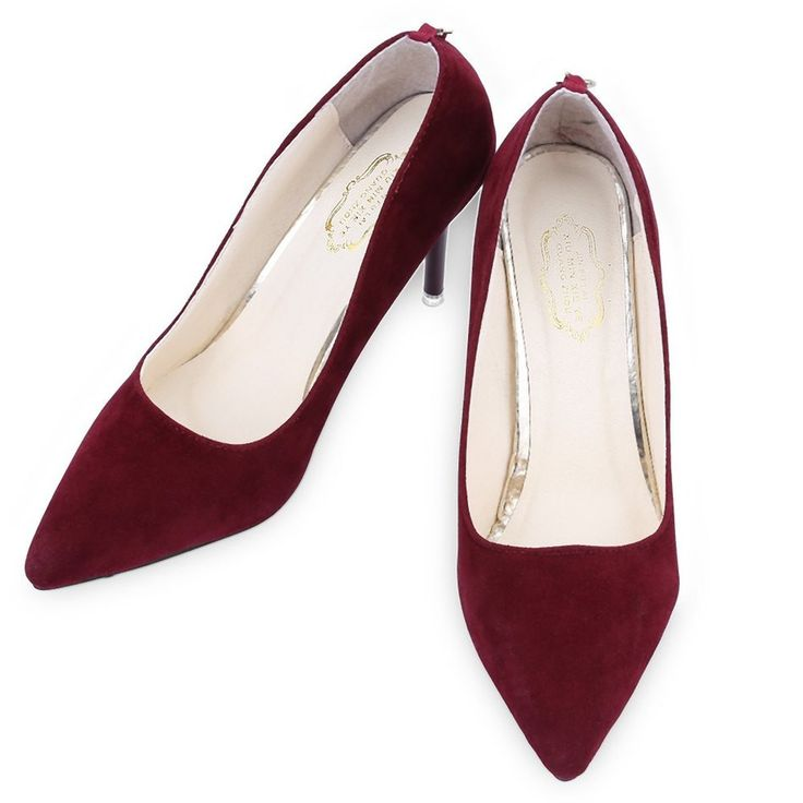 Fashion Women High Heel Shoes Summer Ladies Pumps Sexy Red Bottom Pointed Toe High Thin Heels Shoes Elegant Party Dress Shoes