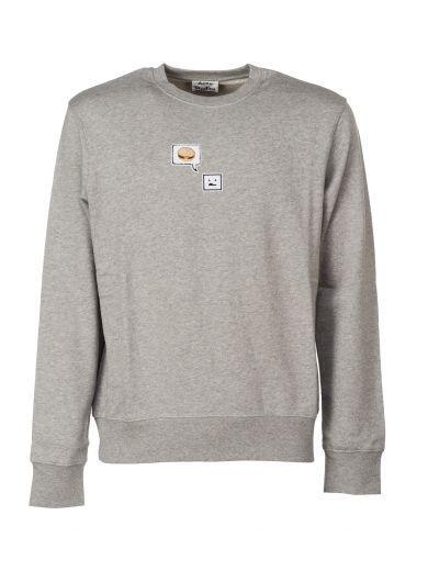 ACNE STUDIOS Acne Studios Casey Emoji Sweatshirt. #acnestudios #cloth #fleeces-tracksuits