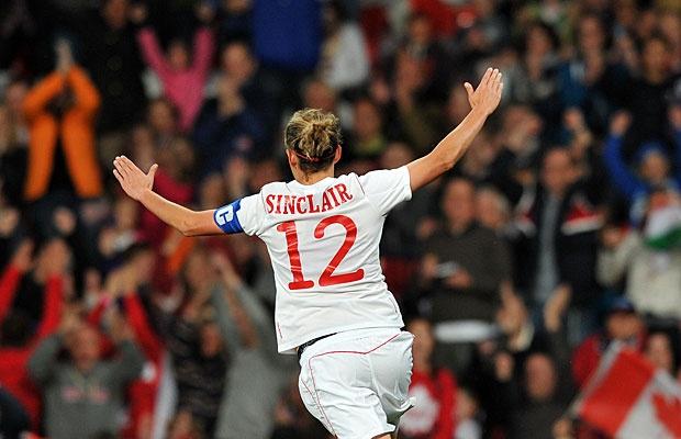 My hero. We love you Christine Sinclair <3