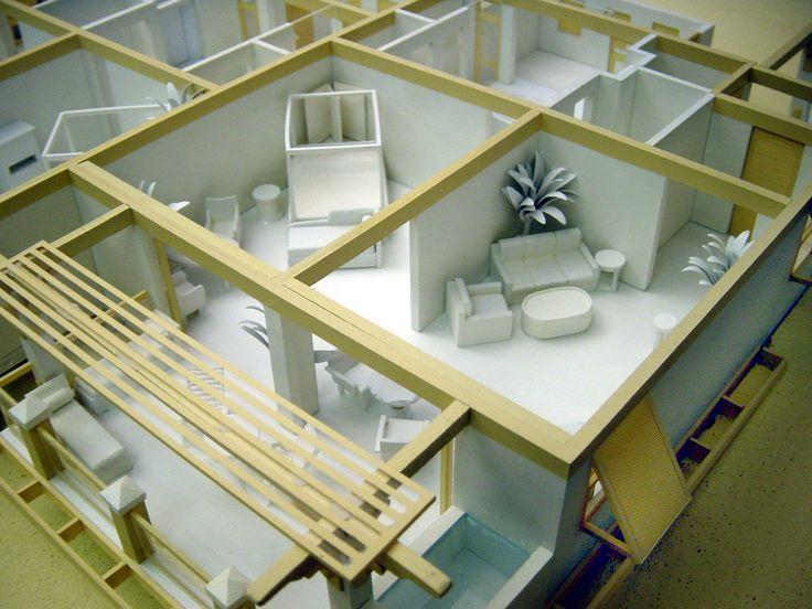 19 best Interior design models images on Pinterest Homes Maquette
