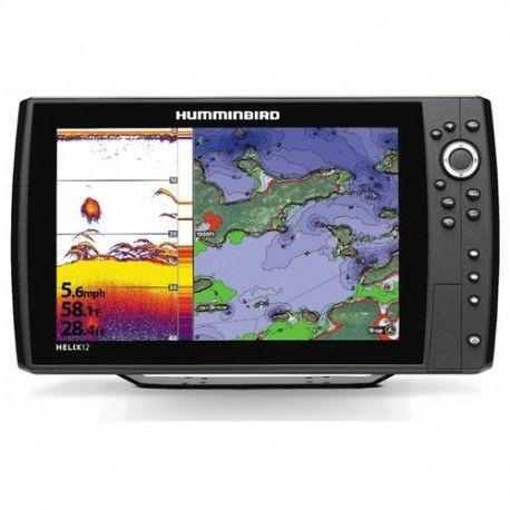 Combiné HELIX 12 2D CHIRP  Combiné Sondeur GPS HELIX 12 HD, sonde tableau arrière (410000-1) A RETENIR      Nouveauté 2016     Écran panoramique couleur     Écran plein soleil 12.1 pouces     Étanchéité IPx7     Antenne GPS intégré     Combiné Multifonction     Technologie Dualbeam Plus / Switchfire.