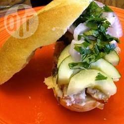 Sanduíche vietnamita @ allrecipes.com.br