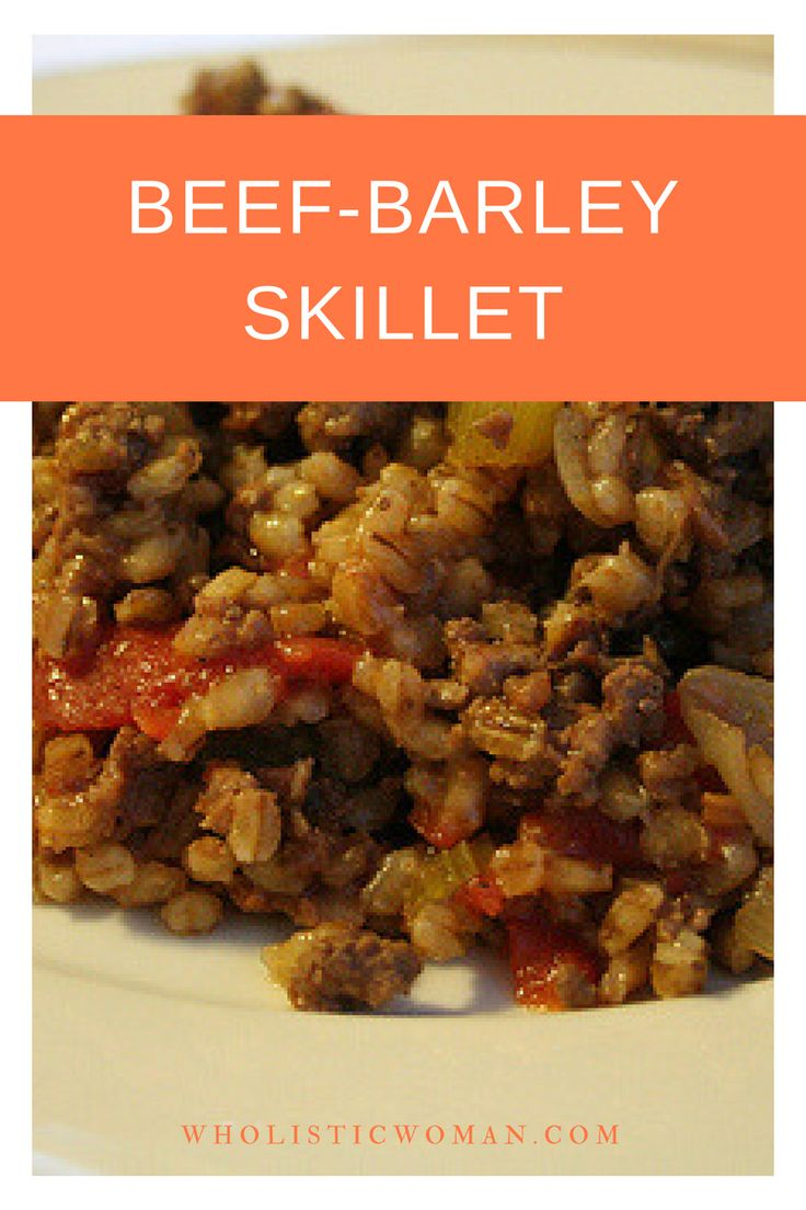 This is one of those recipes that is definitely not fancy, but it's just perfect for a cold wintry evening. Sunday Supper is a great tradition, one that's been in my family for generations. I remember fondly having comfort foods made by my Grandma when we were lucky enough to be invited for supper. My ... Read More about  Beef-Barley Skillet #SundaySupper