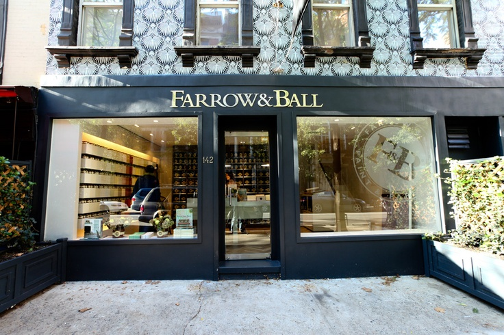 Farrow ball upper east showroom in new york wrapped in for Farrow and ball los angeles