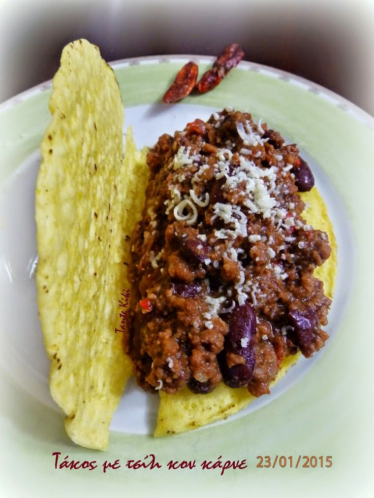 Tante Kiki: Τάκος με chili con carne