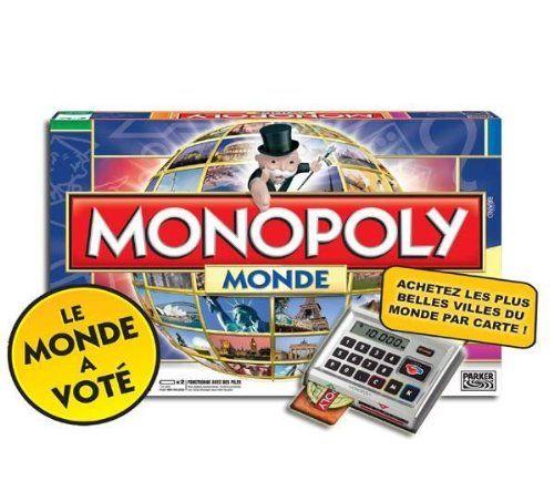 Hasbro – 16121010 – Jeu de Société Electronique – Monopoly Monde | Your #1 Source for Toys and Games