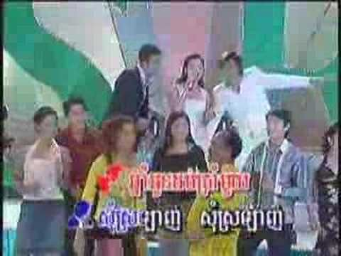Chhnam Oun 16 ( Ros Sereysothea) 60s Psych from Ros... but mimed on Cambodian TV by someone