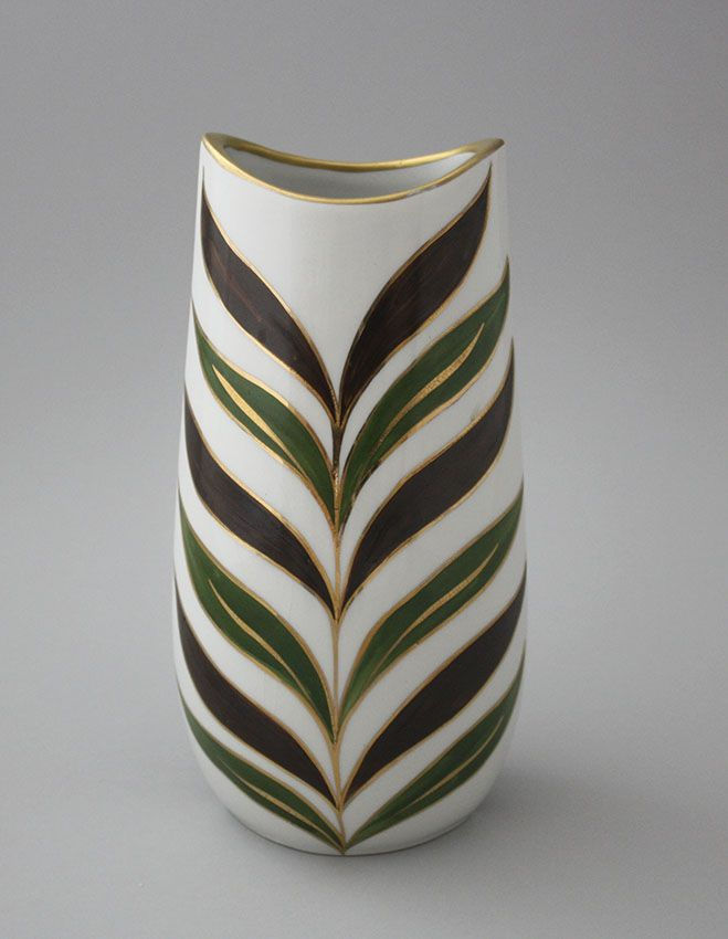 Arabia vase, hand painted | Shopping Place for Friends of Old Antique Dishware - Dishwareheaven.com