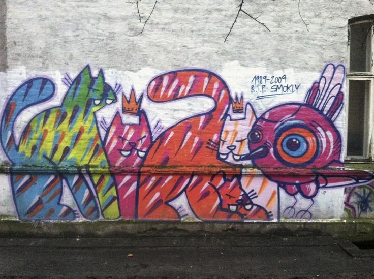 R.I.P Smokly. Føler med artisten. Tatt utenfor #Mir #lufthavna #grunerlokka