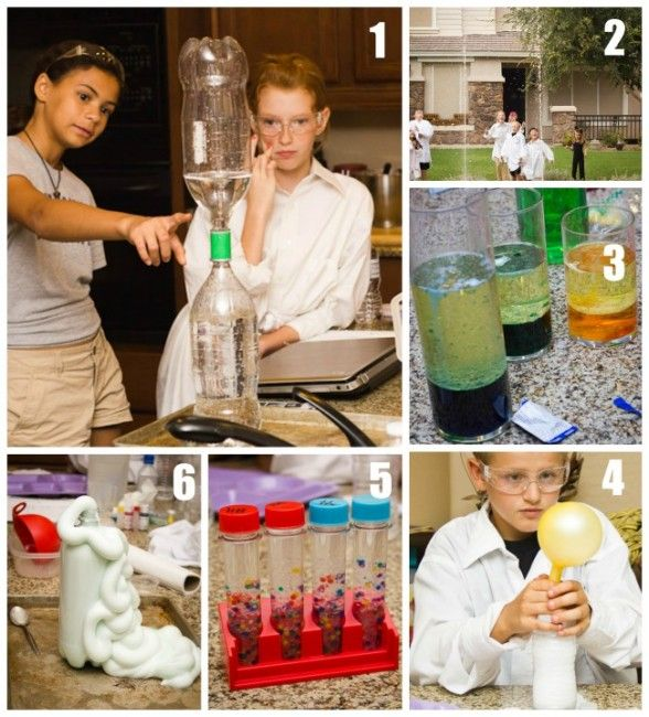 Fun science experiments to do with kids! Mad Science Birthday