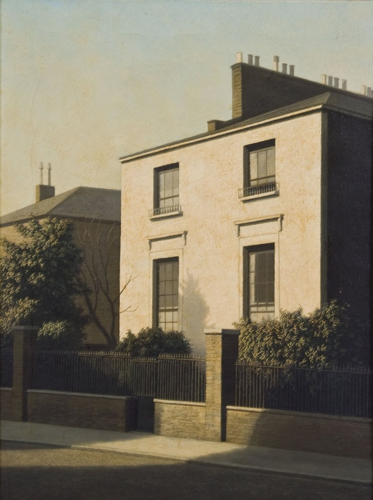 Algernon Cecil Newton (English, 1880-1968), Summer Afternoon in Bayswater. Oil on canvas, 24 x 18¼ in. (61 x 46.4 cm.)