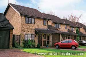 Harry Potter location: Home of the dreadful Dursleys, '4 Privet Drive': 12 Picket Post Close, Martins Heron, Berkshire