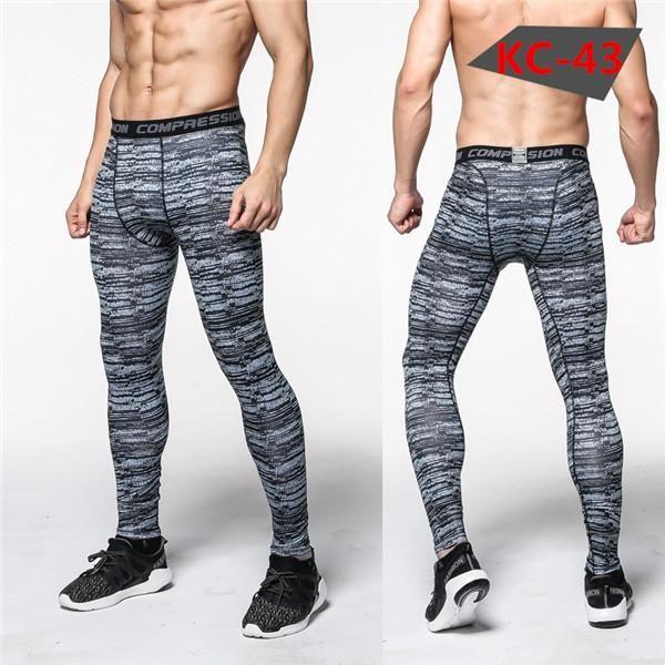 Mens Compression Pants Crossfit Tights Men Bodybuilding Pants