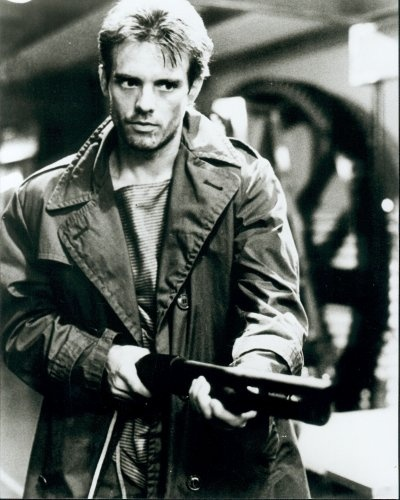 Kyle Reese from The Terminator- Soldier from the future.. coolest character ever!