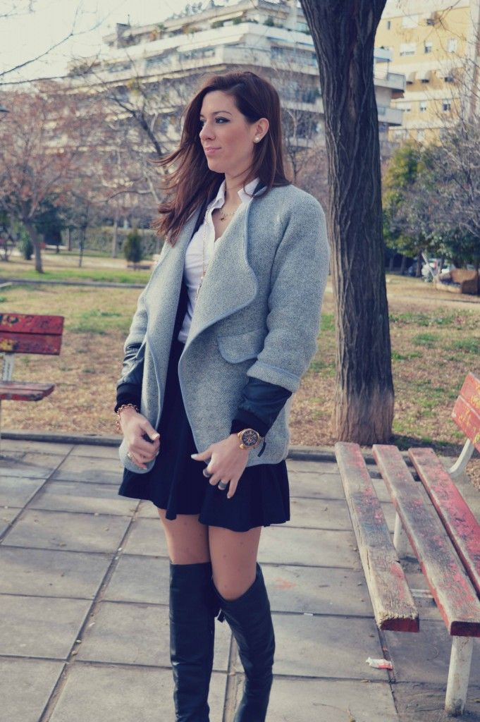 #pretty #girly #ootd #trend #fashion #outfit #overthekneeboots