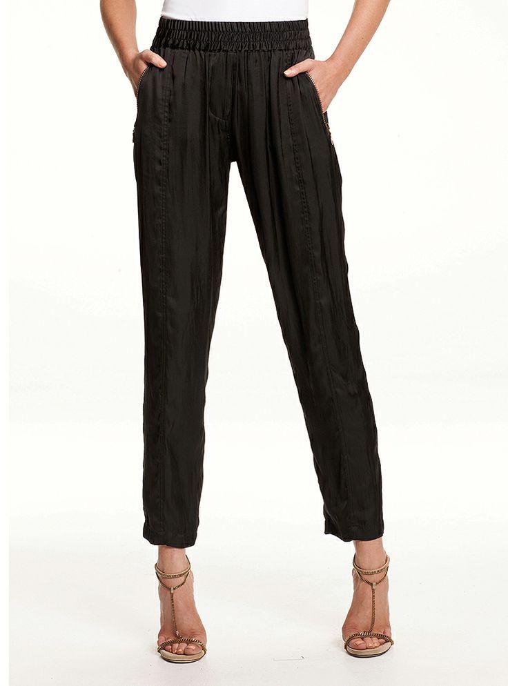 Mela Purdie - Soft Zip Pant - Charmeuse  1182 F68   #melapurdie  #redworks