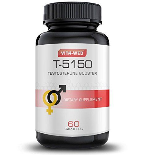 Vita Web Natural Testosterone Booster Pills for Men, 60 capsules  Notice an increase in energy, increase in stamina, improvement in overall mood and confidence Increase your lean muscle mass while reducing body fat at the same time Will not stop the natural production of testosterone in your body