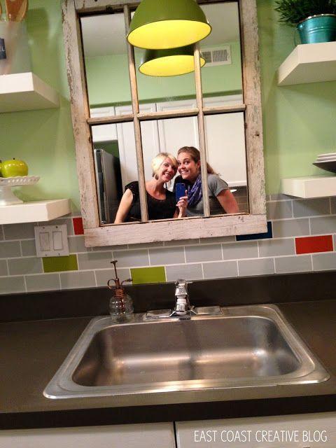 1000 ideas about kitchen sink decor on pinterest for Windowless kitchen ideas