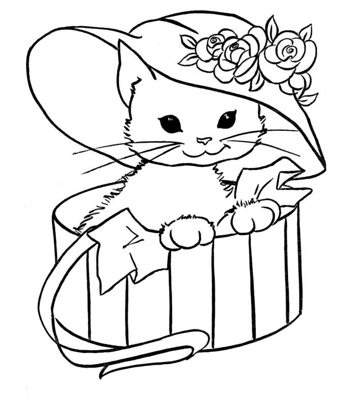 70 Animal Colouring Pages Free Download Print Puppy Coloring Pages Kitty Coloring Animal Coloring Pages