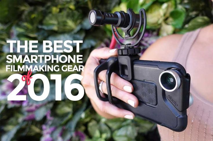 Smartphone filmmaking gear to take your filmmaking to next level. All the best gear you can get to make awesome looking and sounding films with your phone!