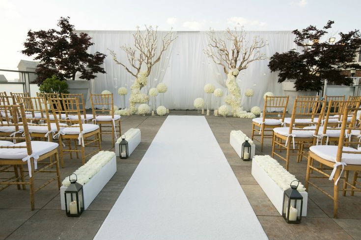 Beautiful Outdoor Wedding Ceremony At Tribeca Rooftop: 43 Best Rooftop Weddings Images On Pinterest