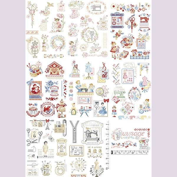 1000 images about point de croix crossstitch on pinterest a alphabet sweet home and stitches. Black Bedroom Furniture Sets. Home Design Ideas