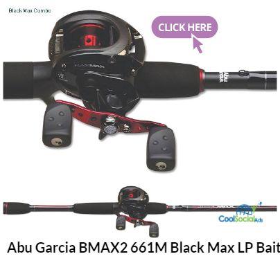 Abu Garcia BMAX2 661M Black Max LP Baitcast Combo for more details visit http://coolsocialads.com/abu-garcia-bmax2-661m-black-max-lp-baitcast-combo-20795