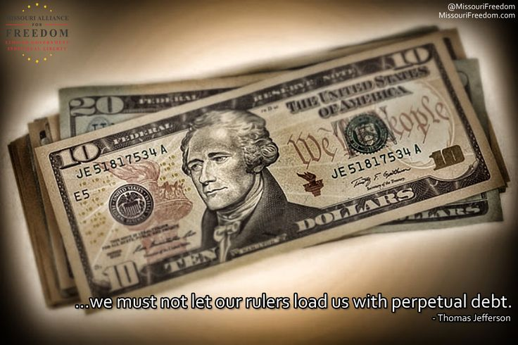 The borrower is slave to the lender.