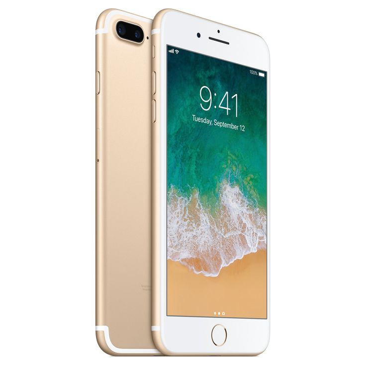 Unlocked iPhone 7 Plus 128GB Cell Phone - Gold