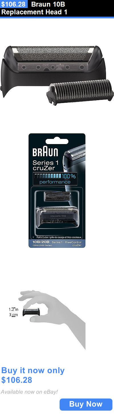 Shaver Parts and Accessories: Braun 10B Replacement Head 1 BUY IT NOW ONLY: $106.28