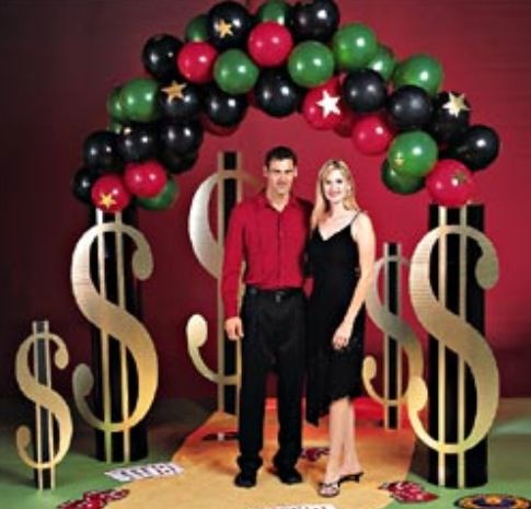 Casino Night Party Decorations 34 best casino night balloon ideas images on pinterest | casino