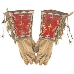 Sioux quilled | Sioux Quilled Gauntlets
