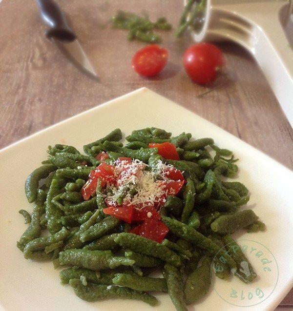 Spatzle - Gnocchetti tirolesi agli spinaci ricetta Bimby