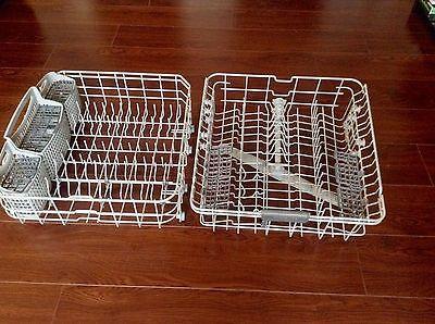 Frigidaire Gallery Dishwasher Racks - Lower and Upper Rack w/ Silverware Basket