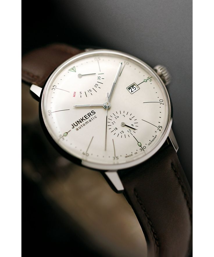 Junkers Bauhaus Power Reserve Automatic 6060-5