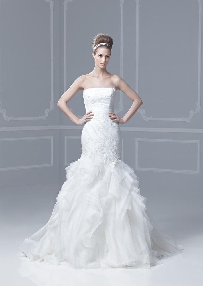 44 best Enzoani images on Pinterest   Short wedding gowns, Bridal ...