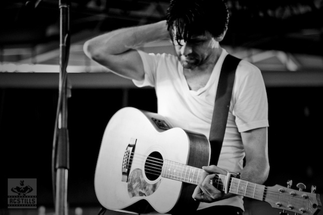 Paul Dempsey from Something For Kate. More stills @ http://rcstills.com