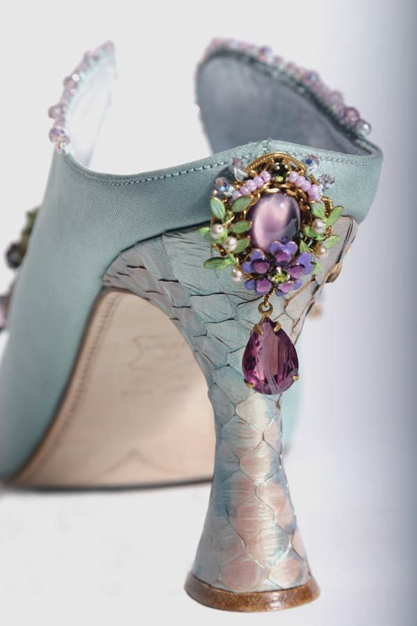 Fantasy Shoes, fairytale designs beatifully made by Basia Zarzycka